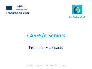 CASES/e-Seniors