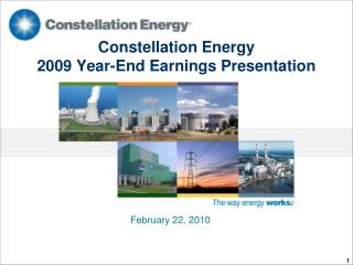 Constellation Energy 2009 Year-End Earnings Presentation