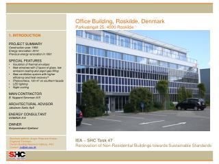 Office Building, Roskilde, Denmark Parkvænget  25, 4000 Roskilde