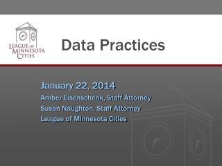 Data Practices