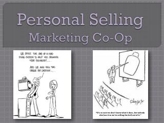Personal Selling Marketing Co-Op