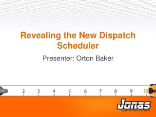 Revealing the New Dispatch Scheduler