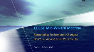 CESSE Mid-Winter Meeting