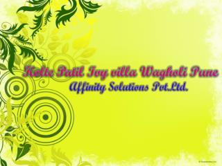 luxury villa in wagholi - 09999684955 - kolte premium villa