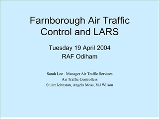 farnborough air traffic control and lars