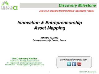 Innovation & Entrepreneurship Asset Mapping