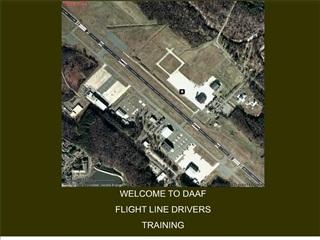 flight line vehicle operations