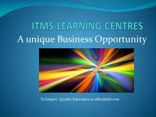 ITMS-LEARNING CENTRES
