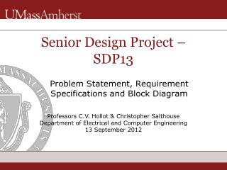 Senior Design Project � SDP13