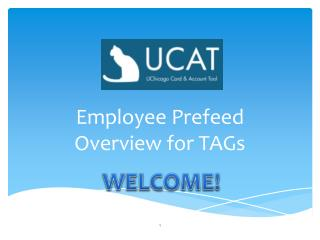 Employee Prefeed  Overview for TAGs