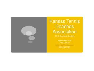 Kansas Tennis Coaches Association