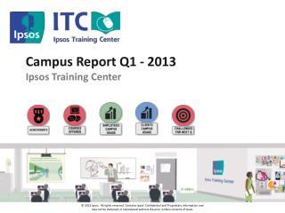 Campus Report Q1 - 2013