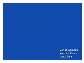 Carlos Quintero Veronica  Gauna Linda  S hen