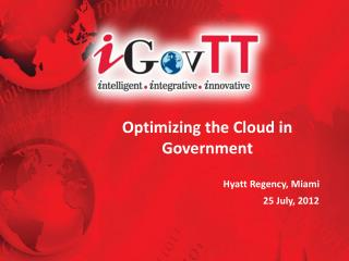 Optimizing the Cloud in Government
