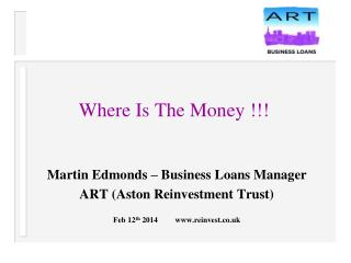 Where Is The Money !!!
