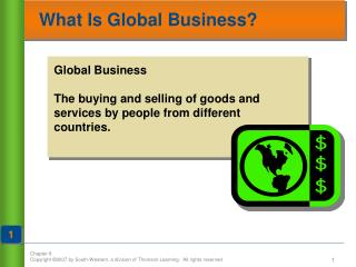 What Is Global Business?