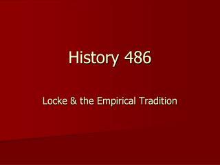 History  486
