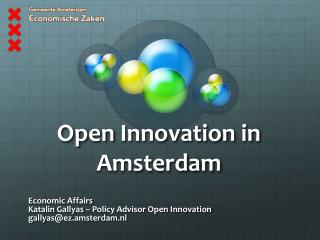 Open  Innovation in Amsterdam