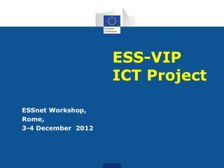 ESS-VIP ICT Project