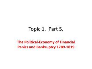 Topic 1.  Part 5.