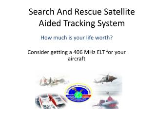 search and rescue satellite aided tracking system