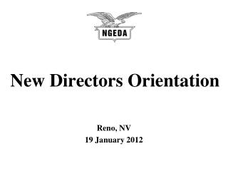 New Directors Orientation