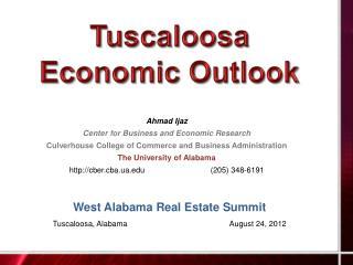 Tuscaloosa Economic Outlook