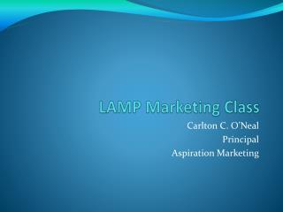 LAMP Marketing Class