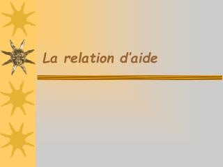 la relation d aide