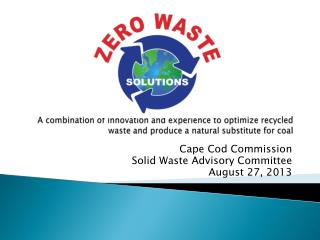 A combination of innovation and experience to optimize recycled waste and produce a natural substitute for coal