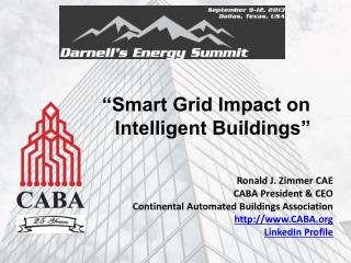 """Smart Grid Impact on Intelligent Buildings"""