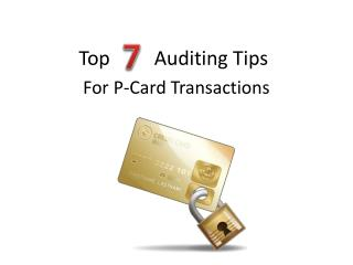 Top         Auditing Tips