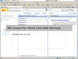 ma council for home care aide services