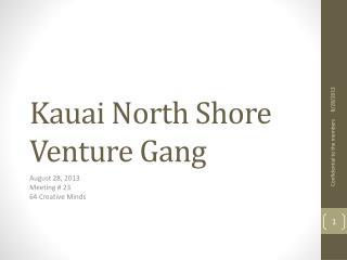 Kauai North Shore Venture Gang