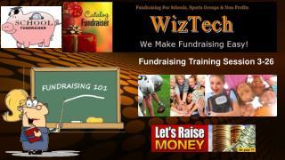 Fundraising Training Session 3-26