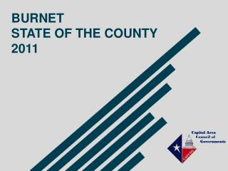 BURNET STATE OF THE COUNTY 2011