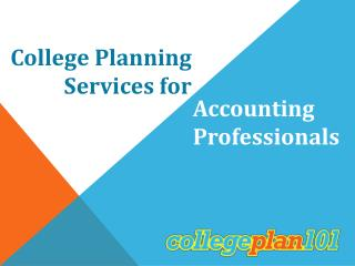 College Planning  Services for