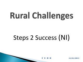 Rural Challenges