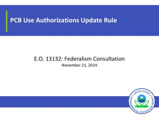 PCB Use Authorizations Update Rule