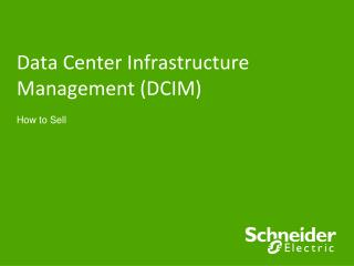 Data Center Infrastructure Management (DCIM)