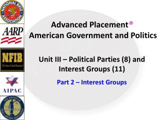Advanced Placement �  American Government and Politics