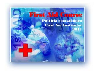first aid course 2006 siw sandell first aid instructor