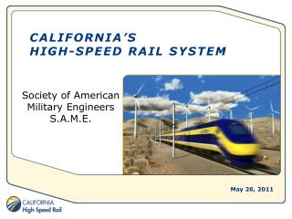 California's  High-Speed RAIL SYSTEM