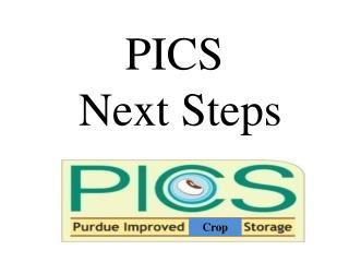 PICS  Next Steps