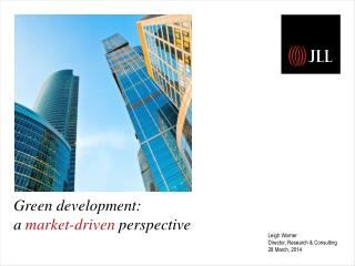 Green development: a  market-driven  perspective