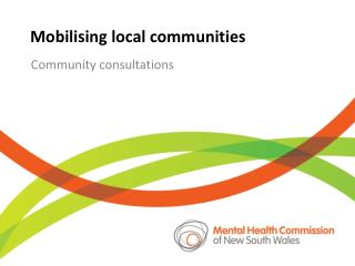 Mobilising  local communities