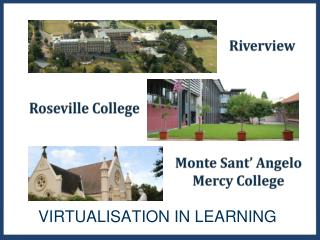 VIRTUALISATION IN LEARNING