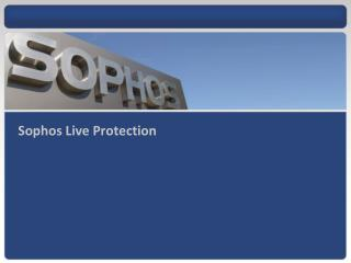 Sophos Live Protection