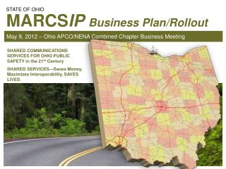May 9, 2012 – Ohio APCO/NENA Combined Chapter Business Meeting