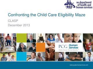 Confronting the Child Care Eligibility Maze